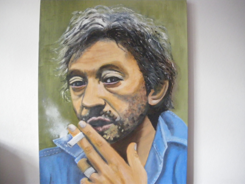 Serge Gainsbourg by kervallon
